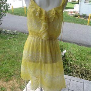 New Lauren Conrad sheer dress.